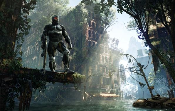 Picture the city, Apocalypse, home, jungle, Crytek, Crysis 3, nanoquantum