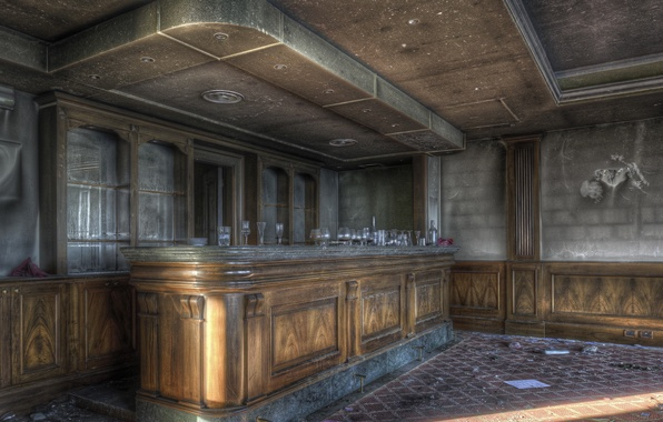 Picture background, interior, bar