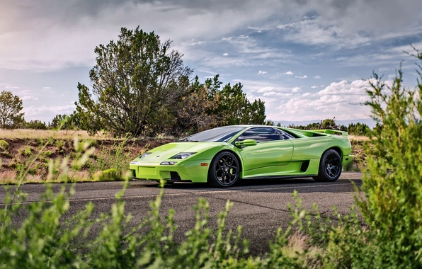 Picture lamborghini, supercar, diablo, lunchbox photoworks