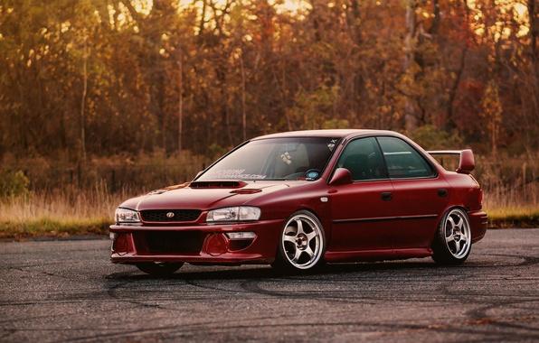 Picture Subaru, Impreza, stance, GC8, rwd