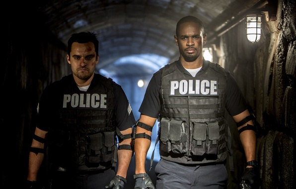Picture police, form, police, Damon Wayans Jr., Let's be cops, Let's Be Cops, Damon Wayans Jr., …