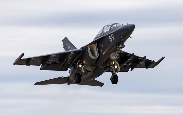 Picture weapons, the plane, Yak-130