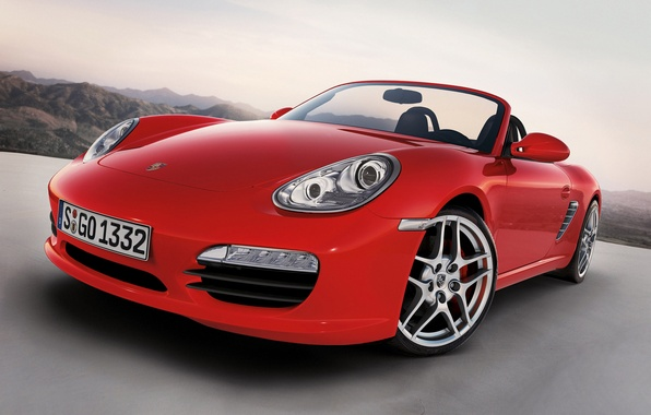 Photo wallpaper Boxster S, Porsche, 987, bokster, Porsche, 2012
