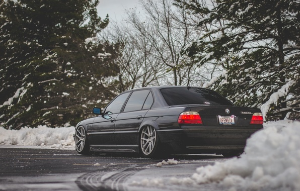 Picture tuning, bmw, BMW, Boomer, e38, stance, 740il