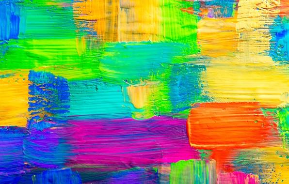 Picture paint, colors, texture, paint, acrylic