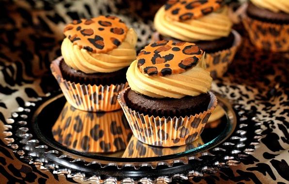 Picture sweets, cake, cream, dessert, cakes, cupcakes