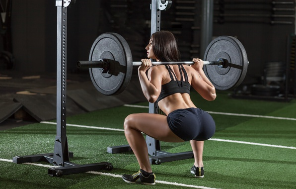 Picture legs, brunette, workout, gym