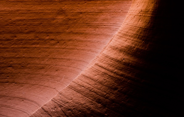Picture rock, stone, shadow, texture, canyon, antelope