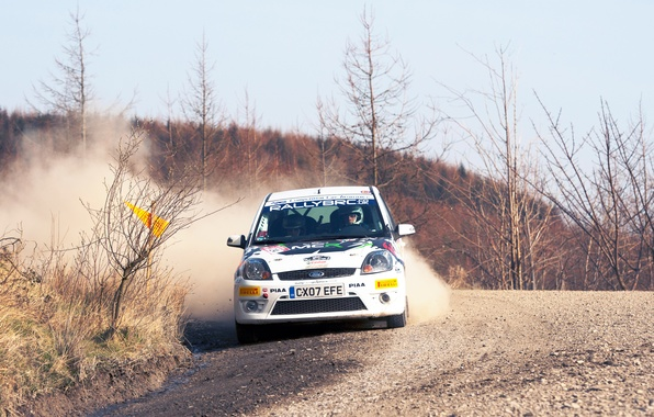 Picture Ford, Auto, White, Sport, Machine, Turn, Race, Skid, Focus, WRC, Rally, Rally, Focus, The front
