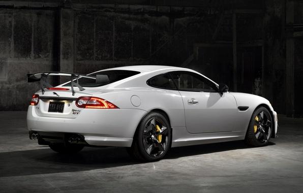 Picture machine, Wallpaper, Jaguar, Jaguar, back, XKR-S, brake lights