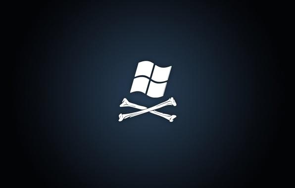 Picture background, black, logo