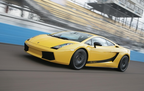 Picture road, machine, gallardo, lamborghini, Lamborghini, yellow, mark, Italian