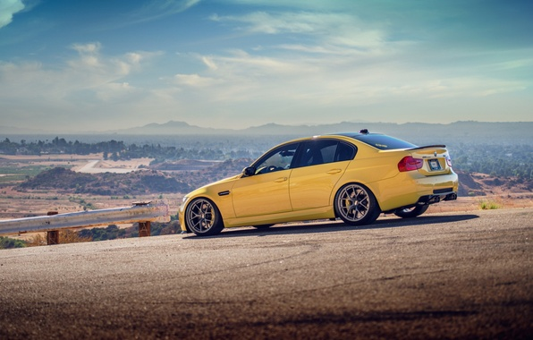 Picture road, BMW, autowalls, BMW M3