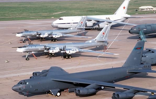 Picture Bear, BBC, Tupolev, Tupolev, An-124, Ruslan, Ruslan, Antonov, Bear, Tu-95, B-52, Antonov, Russian Air Force, …