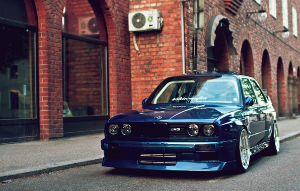 Picture Machine, Blue, Desktop, Car, Car, Beautiful, Blue, Bmw, Wallpapers, 1920x1080, Beautiful, E30, BMW, Wallpaper, Automobiles, …