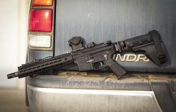 Picture weapons, assault rifle, AR-15, BCM, assault rifle