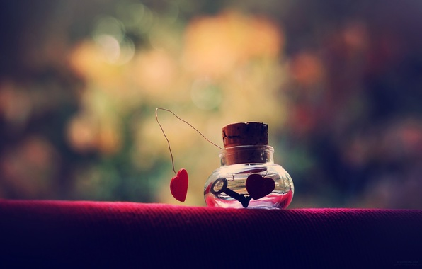 Picture background, Wallpaper, mood, heart, key, Bank, tube, key