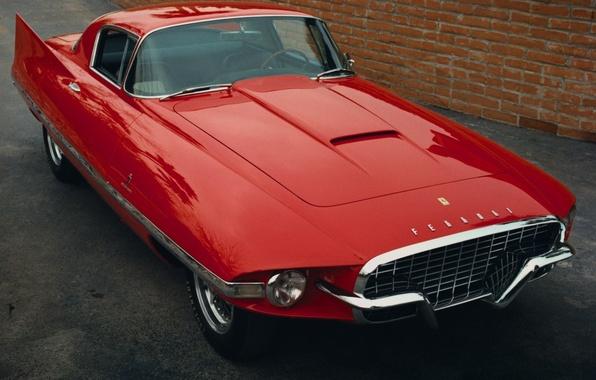 Picture Red, Old, Ferrari