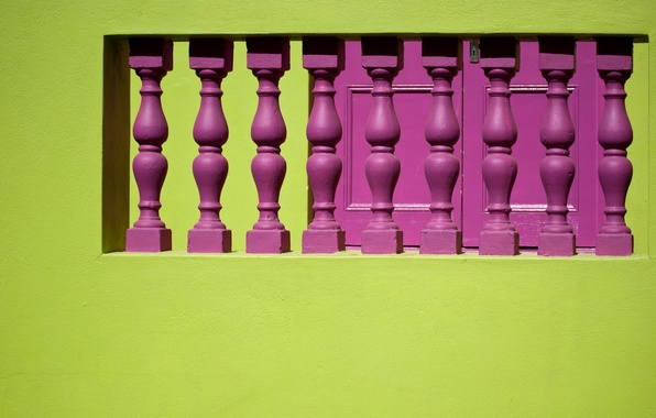 Picture South Africa, South Africa, Cape Town, Cape town, Malay quarter, Bo-Kaap, Bo-Kaap, Malay Quarter, balusters