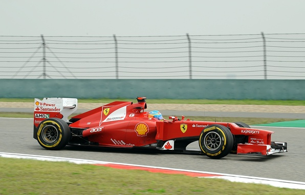 Picture Formula 1, Ferrari, Fernando Alonso, Fernando Alonso, f2012
