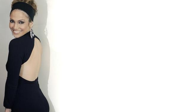 Picture smile, back, earrings, actress, singer, Jennifer Lopez, celebrity, earrings, Jennifer Lopez
