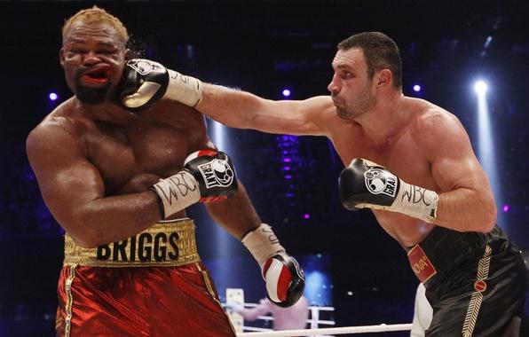 Picture Boxing, blow, Klitschko, jelly, KLITSCHKO