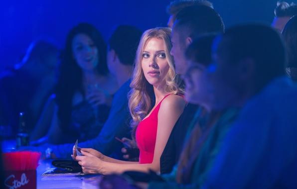Picture people, bar, Scarlett Johansson, blonde, Scarlett Johansson, Joseph Gordon-Levitt, Joseph Gordon-Levitt, The Passion Of Don …