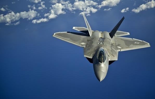 Picture flight, fighter, unobtrusive, multipurpose, F-22 Raptor