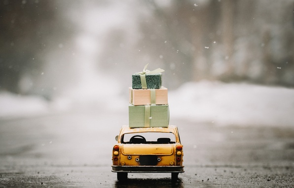 Picture car, toy, gifts, taxi, toy, street, asphalt, model, miniature, car model