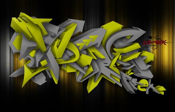 Picture graffiti, graffiti, photoshop, FireX