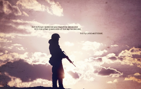 Picture the sky, photo, weapons, background, the inscription, Wallpaper, soldiers