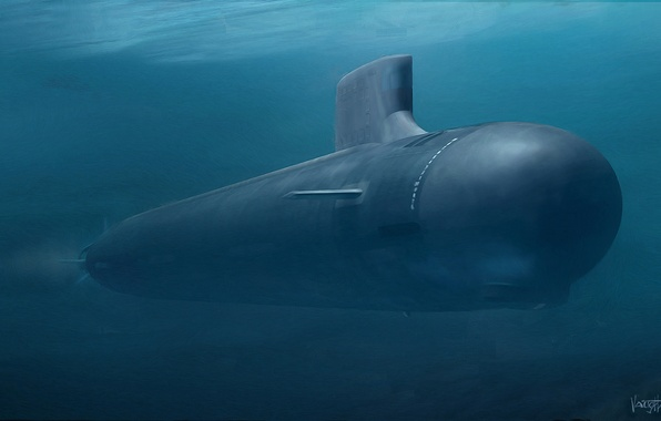 Picture weapons, boat, submarine, underwater, atomic