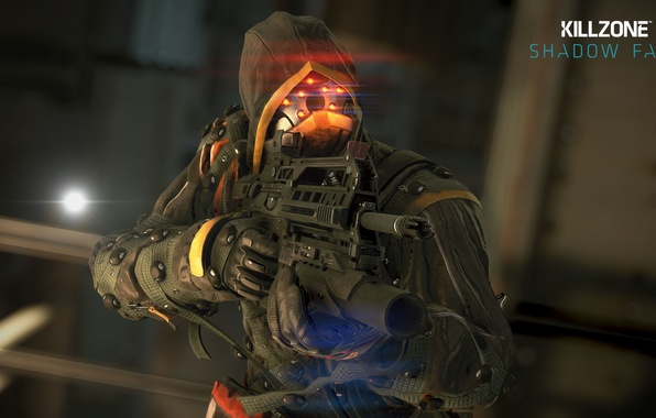 Picture weapons, soldiers, Killzone, equipment