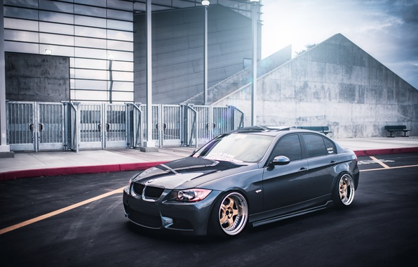 Picture BMW, BMW, 335i, sedan, 3 series, stance, The 3 series