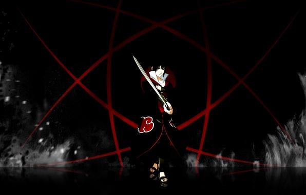 Picture Flame, Fire, Sasuke, Sasuke, Naruto, Naruto, Sharingan