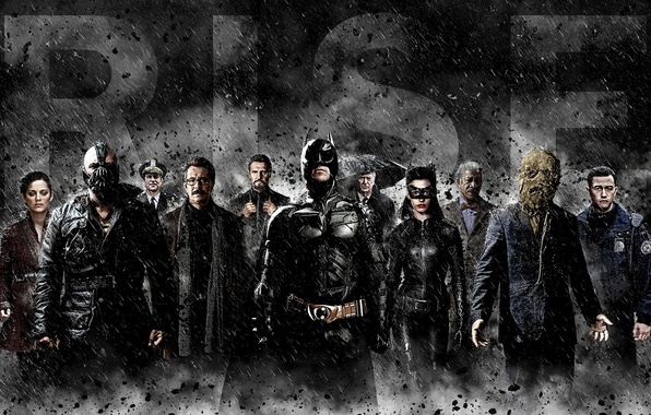 Picture Batman, Batman, Cillian Murphy, Cillian Murphy, The Dark Knight Rises, Christian Bale, Anne Hathaway, Tom ...