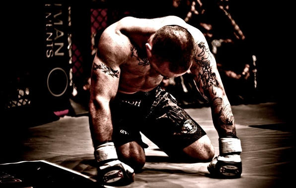 Picture tattoo, fighter, fighter, tattoo, mma, mixed martial arts, mixed martial arts