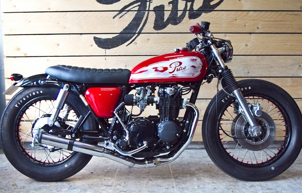 Picture honda, motorcycle, cafe racer