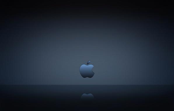 Picture computer, reflection, Apple, texture, gadget