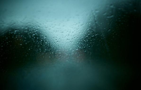 Picture machine, glass, drops, rain, window, texture, weather
