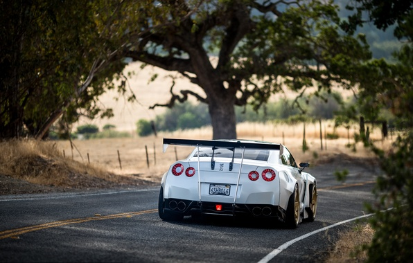 Picture GTR, Nissan, GT-R, R35, Rocket Bunny, People, Rays Wheels, Kei Miura, TE37
