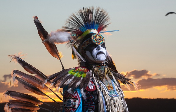 Picture dancer, Northwest Territories, aboriginal, The Freedom of Flight