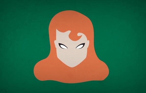 Picture minimalism, DC Comics, blo0p, Poison Ivy
