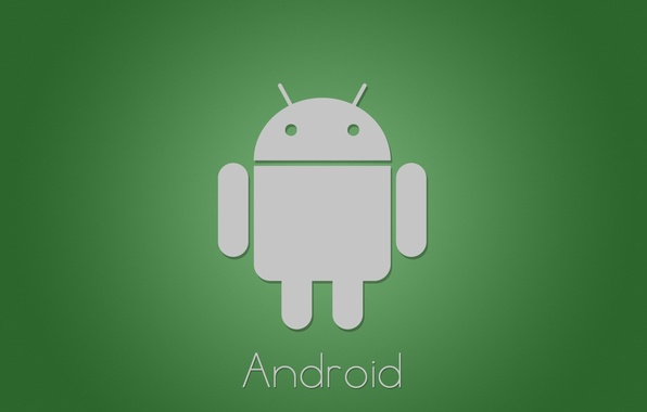 Picture green, minimalism, android, tech, google
