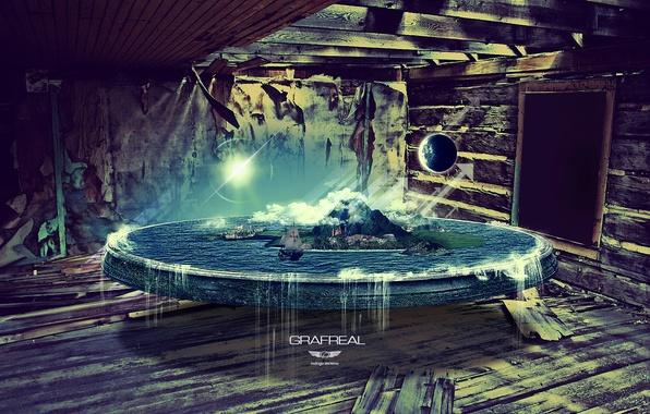 Picture water, earth, the world, planet, rodrigo zenteno, Grafreal