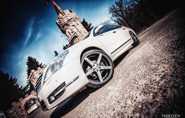 Picture tower, photographer, optics, Nissan, drives, photography, photographer, Vossen, Thirteen