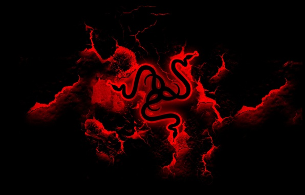 Picture Red, Logo, Razer, Desktop Wallpaper