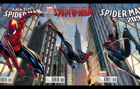 Photo Wallpaper Spider Man 2099 The Amazing Superior