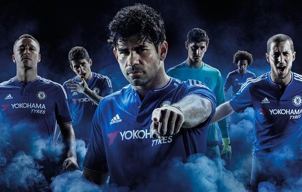 Picture Oscar, Chelsea, Terry, Chelsea, Yokohama, Hazard, Willian, Diego Costa, Courteous