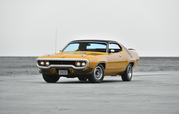 Picture 1971, Plymouth, Plymouth, Road Runner, the road runner